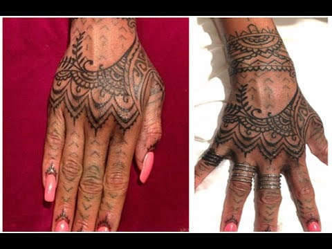 Rihanna Mehndi Tattoo : Images about henna tattoo designs on we heart it see more