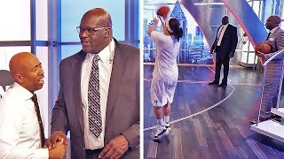World Record Three Point Shooter vs. Kenny 'The Jet' Smith!