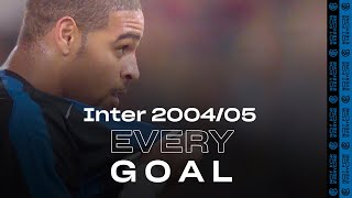 EVERY GOAL! | INTER 2004/05 | Adriano, Vieri, Martins, Recoba, Cruz, Stankovic and many more... ⚽⚫🔵