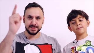 Папа Роб и Ярик и LEGO NINJAGO MOVIE Нападение Гармадона. Часть 1