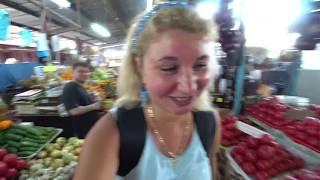 Ялта. Крым 2019. Рынок, овощи и фрукты по заманчивым ценам