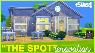 the sims 4  the spot  renovation for hs story
