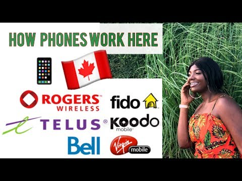 CHEAPEST/BEST PHONE PROVIDER IN CANADA//HOW PHONES WORK HERE