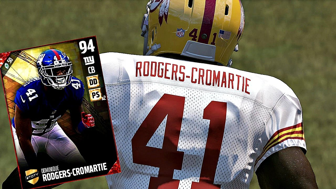 TOTY DOMINIQUE RODGERS CROMARTIE IS INSANE Madden 17 Ultimate
