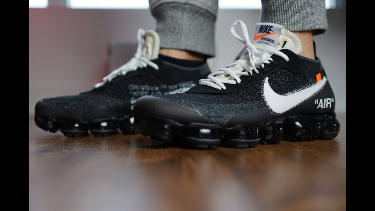 d911cf8209 NIKELAB VAPORMAX OFF-WHITE REVIEW!! + ON FEET!! - YouTube