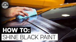 How To Add Shine and Protection to Black Paint! - Chemical Guys
