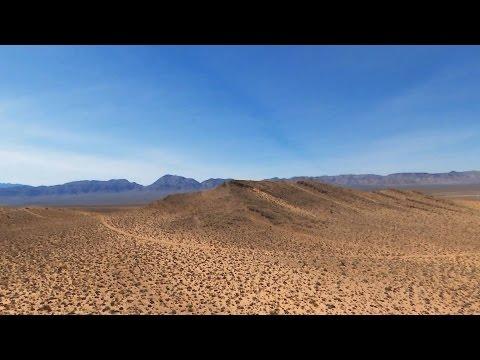 #BebopYourWorld | Flying Over Nevada's Desert