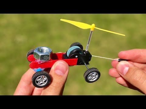 How To Make An Amazing DIY Helicopter Car - Simple Toy