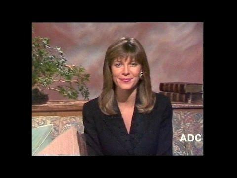 TSW Ruth Langsford in vision 4th November 1989