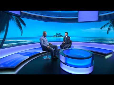 DESERT ISLAND - ED STAFFORD INTV -  BBC WORLD NEWS