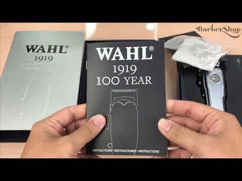 Đập hộp review phiên bản đặc biệt WAHL 100 Year