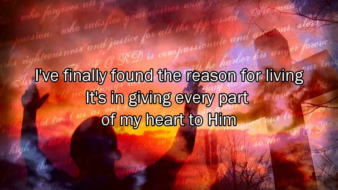 Reason to live christian song