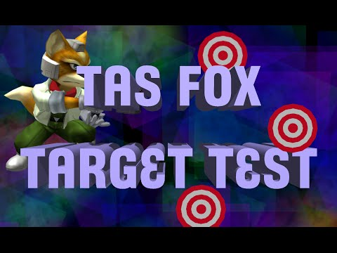 [TAS] Fox Does Every Target Test Stage (SSBM)