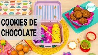 COOKIES DE CHOCOLATE | LANCHEIRAS FOOD NETWORK