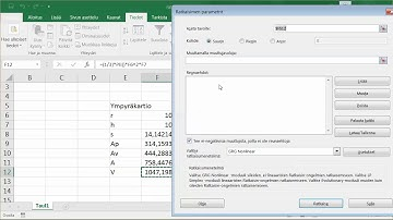 Excel Ratkaisin