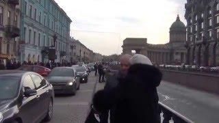 Прогулка по набережной Канала Грибоедова от Воскресенского до Казанского собора, Санкт-Петербург(, 2016-03-26T16:32:06.000Z)