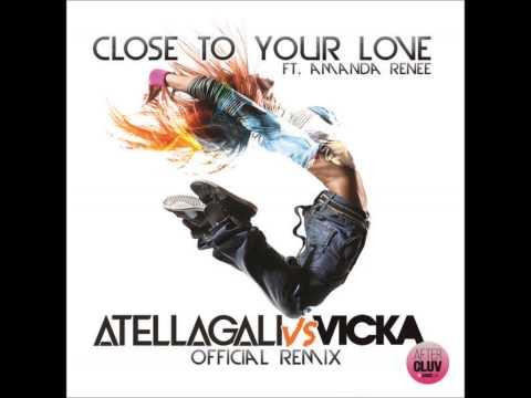Amanda Renee close to your love Atellagali vs Vicka