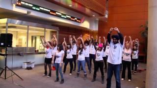 MSc Flash Mob - Feb 2014