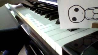 アシタカとサン(もののけ姫) 久石譲 ピアノ演奏