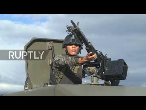 Honduras: El Salvador, Guatemala and Honduras launch joint border force