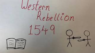 The Western Rebellion 1549
