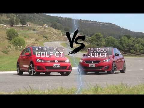 Peugeot 308S GTi - VW Golf GTi - Comparativo - Matias Antico - TN Autos