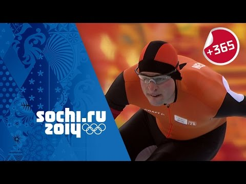 Men's Speed Skating 5000m Full Event - Kramer Sets Olympic Record | #Sochi365