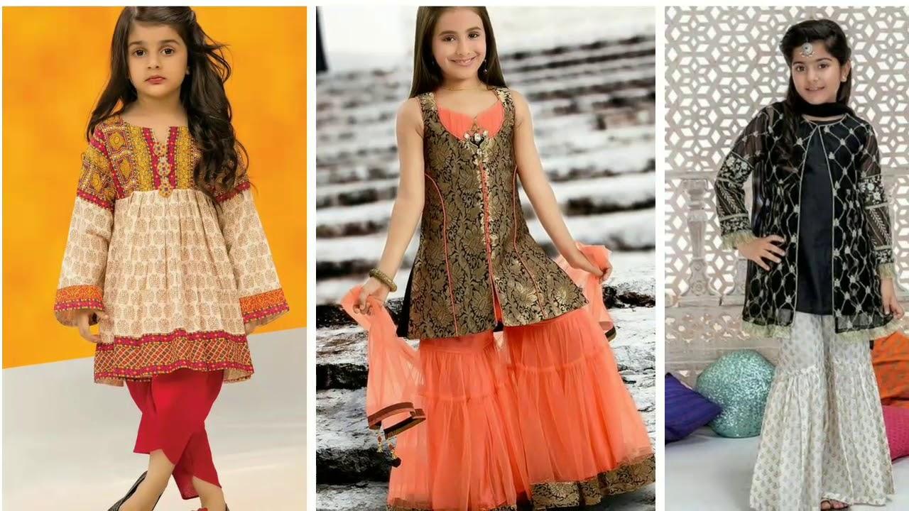 Eid Dress For Baby Girls  Eid Dresses For Kids  Latest Dress Designs  For Baby Girls 8