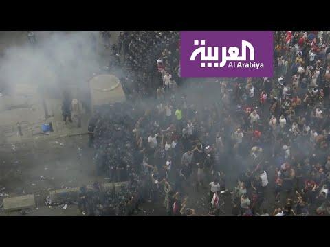 مواجهات في لبنان.. ومدنيون يحاولون حماية رجال الأمن  - نشر قبل 58 دقيقة