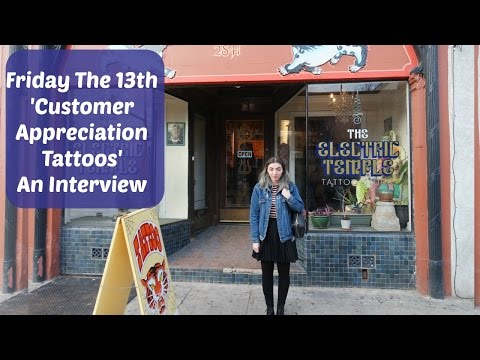Friday The 13th Tattoos: Customer Appreciation, An Interview with Bryan Holland.