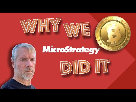 MICROSTRATEGY CEO: WHY We Bought $425 MILLION Worth Of BITCOIN & Why Other Companies Have NO CHOICE.
