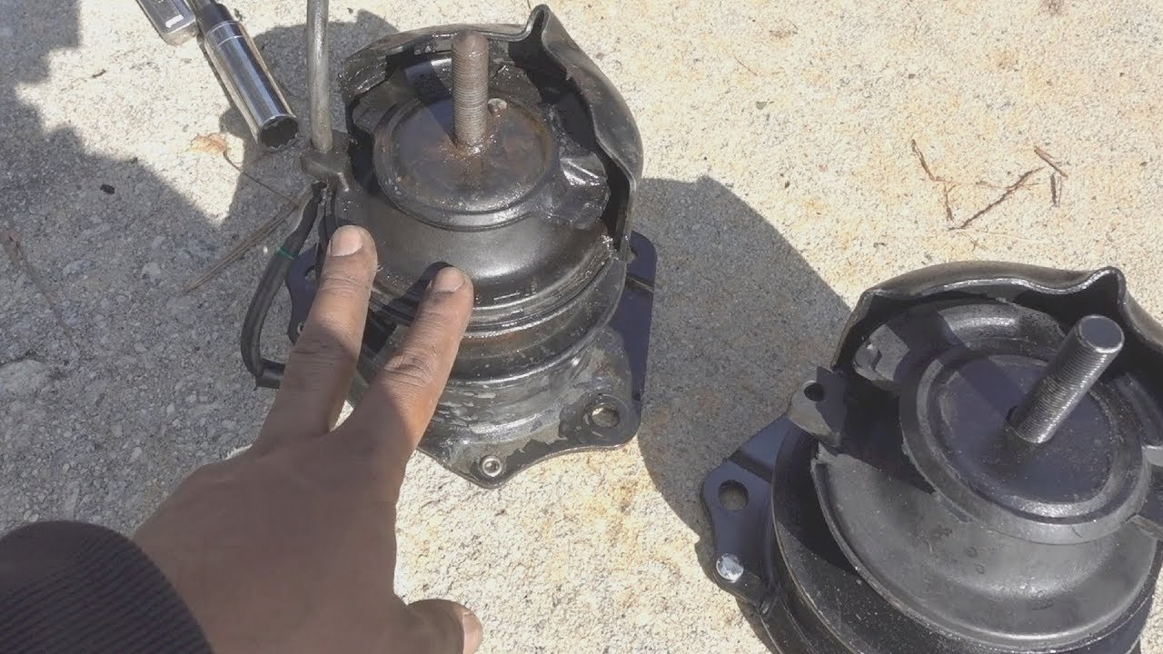 How To Replace Rear Motor Mount 1998 To 2002 Honda Accord Youtube