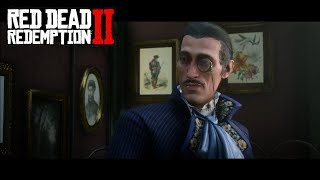 RED DEAD REDEMPTION II - Meeting Algernon Wasp | PS4 Gameplay