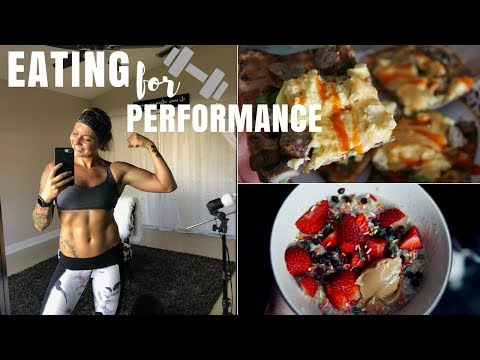 Eating to PERFORM: Full Day Of Eating For 2-A-Day Training & My Thoughts On RP Strength