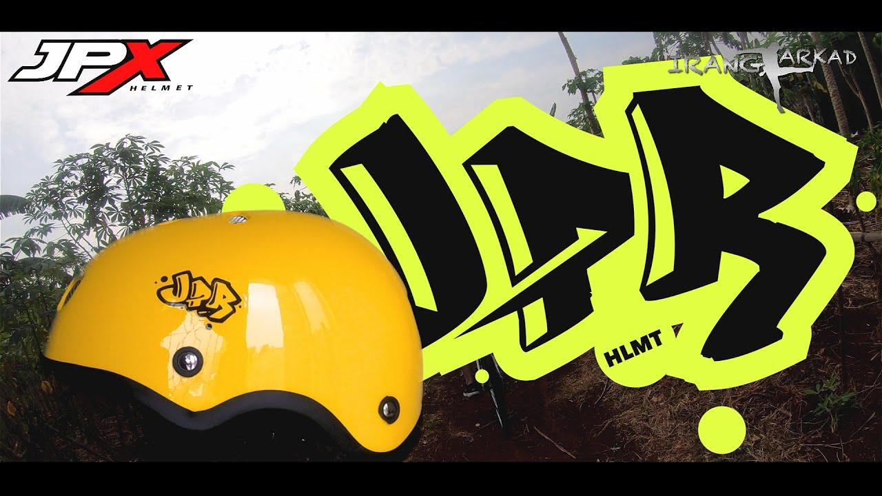 Helm-nya ADVENTURER!! (JPR short review dari JPX Helmet)