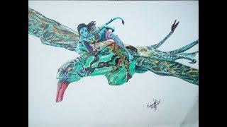 Drawing Ikran - Leonopteryx Ep 1 | Avatar Week | Mahnoor Rizvi