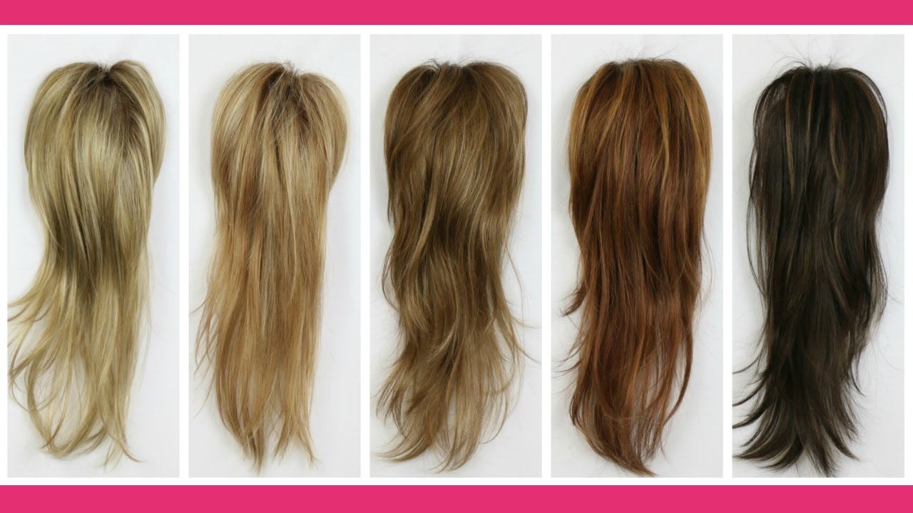 rooted mono long top hair piece