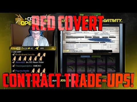 Red Covert Contract Trade-Ups!