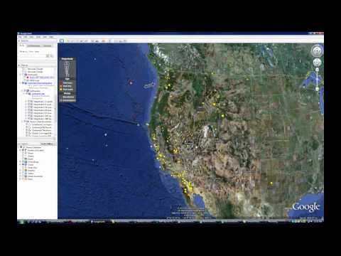 Earthquakes & North American Plate - Part 1