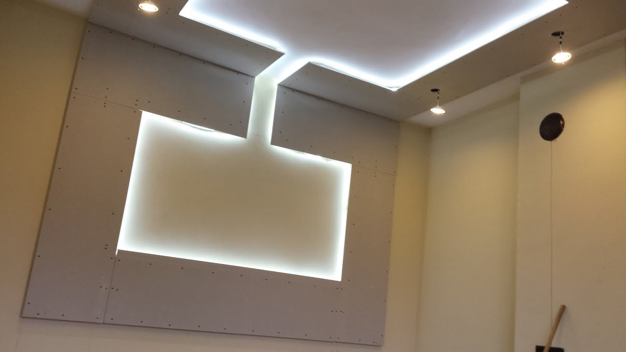 Decoracion led techo y pared fotos y videos youtube - Adornos de pared ...