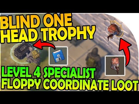 THE BLIND ONE TROPHY HEAD + LEVEL 4 SPECIALIST FLOPPY LOOT - Last Day On Earth Survival 1.6.9 Update