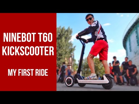 Ninebot KickScooter T60 - The First Self-Driving Scooter