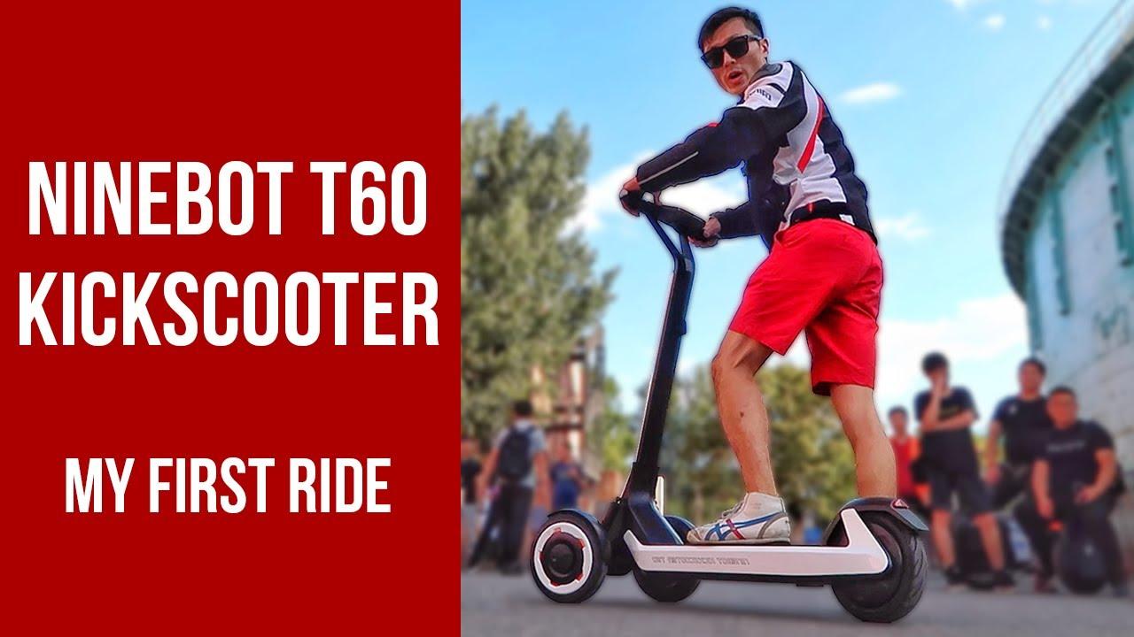 Ninebot KickScooter T60 Unveil