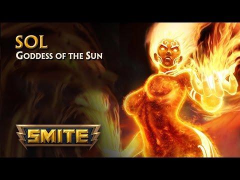 видео: smite [ru] || Обзор на богиню Соль (sol)