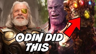 Odin Collected All 6 Infinity Stones Before Thanos Avengers 4 Endgame & Avengers Infinity War