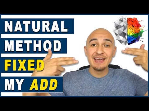 🔥  Cure ADD / ADHD - Natural Treatment | How I Focus, Pay Attention, Concentrate, & Improve Memory