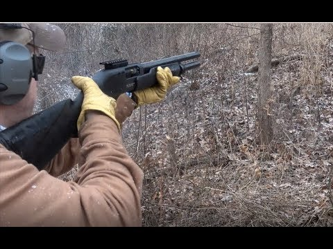 The Redneck Chainsaw: Fedarm FRN 12 Gauge Shotgun - YouTube