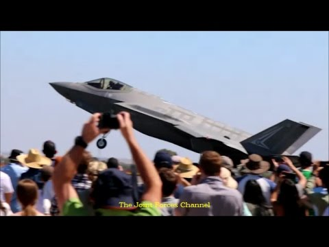 F 35 JSF First Aerobatics And Static Display In Australia, Avalon Air Show 2017