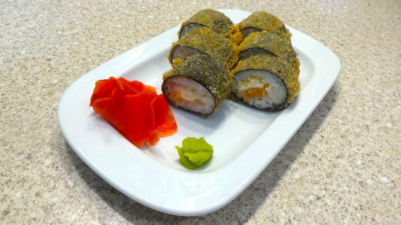ЖАРЕНЫЕ РОЛЛЫ! Из рецептов школы сушистов! Fried rolls.