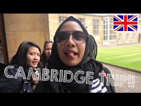 Cambridge Trip! - Jalan-jalan keliling Inggris 2016